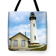 Pigeon Point Lighthouse View Tote Bag