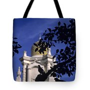 Pigeons Silhouetted Tote Bag