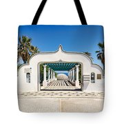 Piges Kallitheas In Rhodes - Greece. Tote Bag