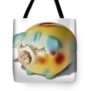Piggy Tote Bag by Kelley King