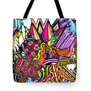 Pigment Waste Tote Bag