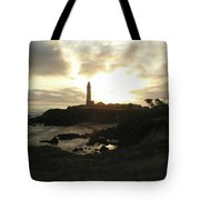 Pigion Point Lighthouse 1 Tote Bag