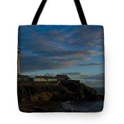 Pigon Point Lighthouse Tote Bag