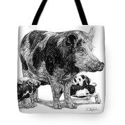 Pigs Tote Bag