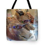 Pigs Heads Tote Bag