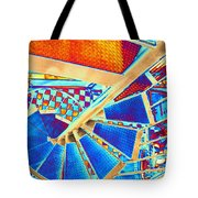 Pike Brewpub Stair Tote Bag