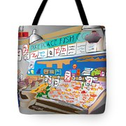 Pike Place Fish Co. Tote Bag