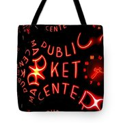 Pike Place Market Entrance 7 Tote Bag