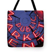 Pike Place Market Entrance Tote Bag