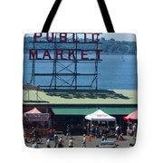 Pike Place Public Market Tote Bag