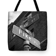 Pike Place Seattle Tote Bag