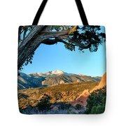 Pikes Peak From Ridge Trail Tote Bag