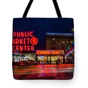 Pikes Place Market Tote Bag