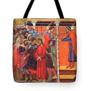 Pilate Washes His Hands 1311 Tote Bag