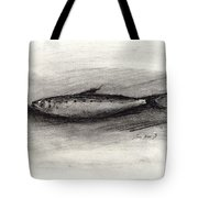 Pilchard Drawing Tote Bag