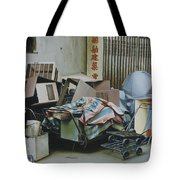 Pile And Pile 1 Tote Bag