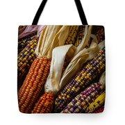 Pile Of Indian Corn Tote Bag