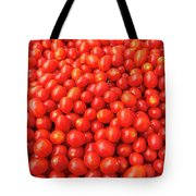 Pile Of Small Tomatos For Sale In Market Tote Bag