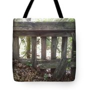 Piles Of A Season Past.. Tote Bag
