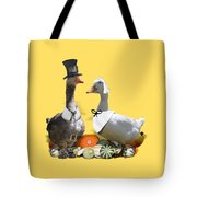 Pilgrim Ducks Tote Bag