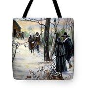 Pilgrims: Church Tote Bag