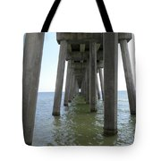 Underneath The Pier Tote Bag