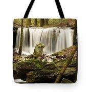 Pillar And Waterfall Tote Bag