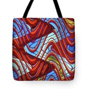 Pillars In The Sky Tote Bag