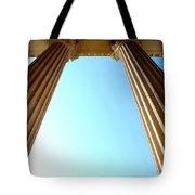 Pillars Of The Sky Tote Bag