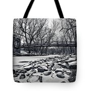 Pillars On The Shore Tote Bag