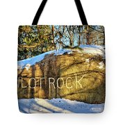 Pilot Rock Iowa Tote Bag