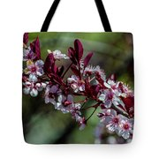 Pin Cherry Blossoms Tote Bag