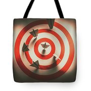 Pin Point Your Target Audience Tote Bag