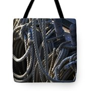 Pin Rail And Rope Tote Bag