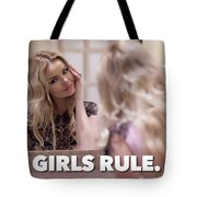 Pin Up Model Tatiana 4 Tote Bag