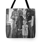Princesses - Bw Tote Bag