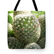 Pincushion Cactus Tote Bag