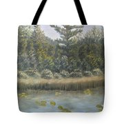 Pine And Lily Pads 2  Tote Bag