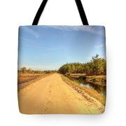 Pine Barrens Of New Jersey Cranberry Harvest Bogs  Tote Bag