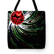 Pine Cone Abstract Tote Bag