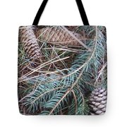 Pine Cone Brush Tote Bag