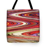 Pine Cone Flower Abstract Tote Bag