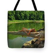 Pine Creek Afternoon Tote Bag