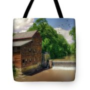 Pine Creek Gristmill Tote Bag