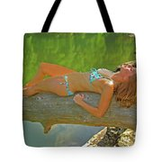 Pine Creek Summer Afternoon Tote Bag