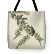 Pine Finch Tote Bag