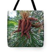 Pine Flowers Tote Bag