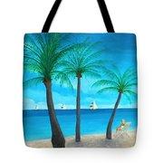 Pine Island Lady  Tote Bag
