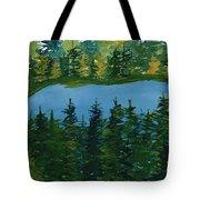 Pine Lake Tote Bag
