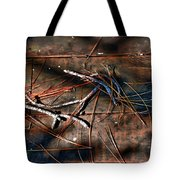 Pine Needles And Sticks Tote Bag